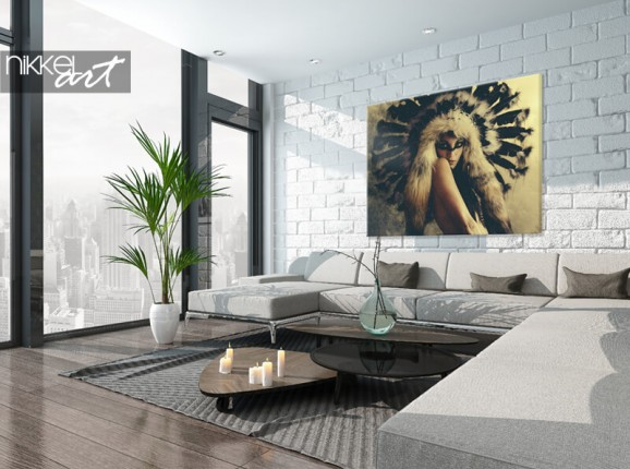 Photo on canvas Jaime Ibarra – Indigina