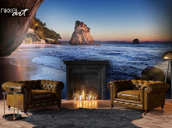 Photo wallpaper Cathedral Cove