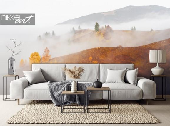 Photo wallpaper fall landscape