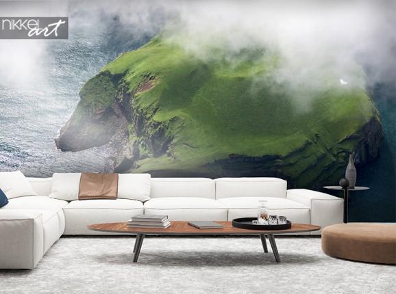 Desert island photo wallpaper