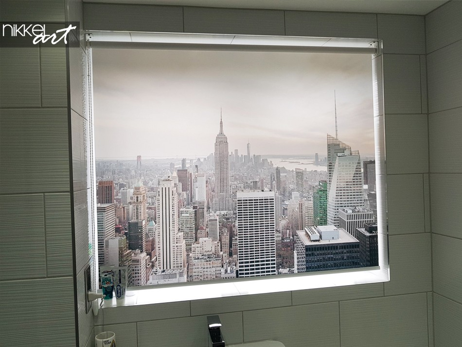 Printed roller blinds New York