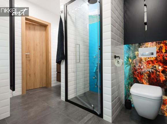 Printed Bathroom Splashback Underwater