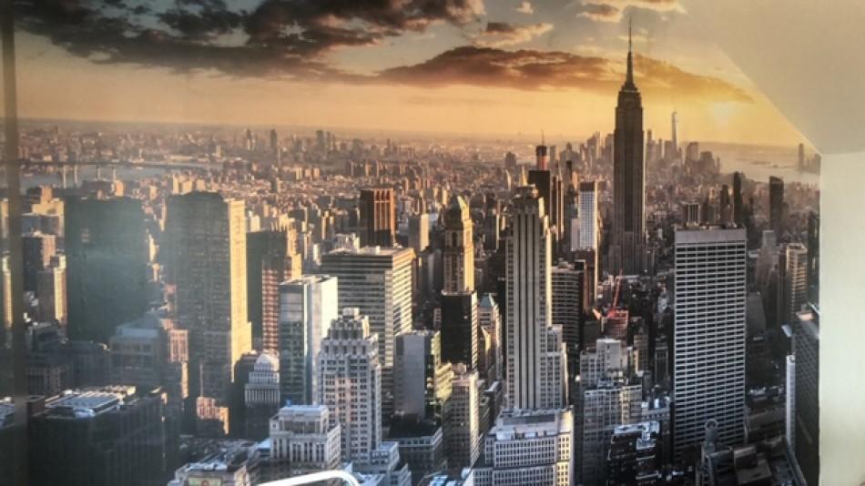 Wall Mural Skyline New York City
