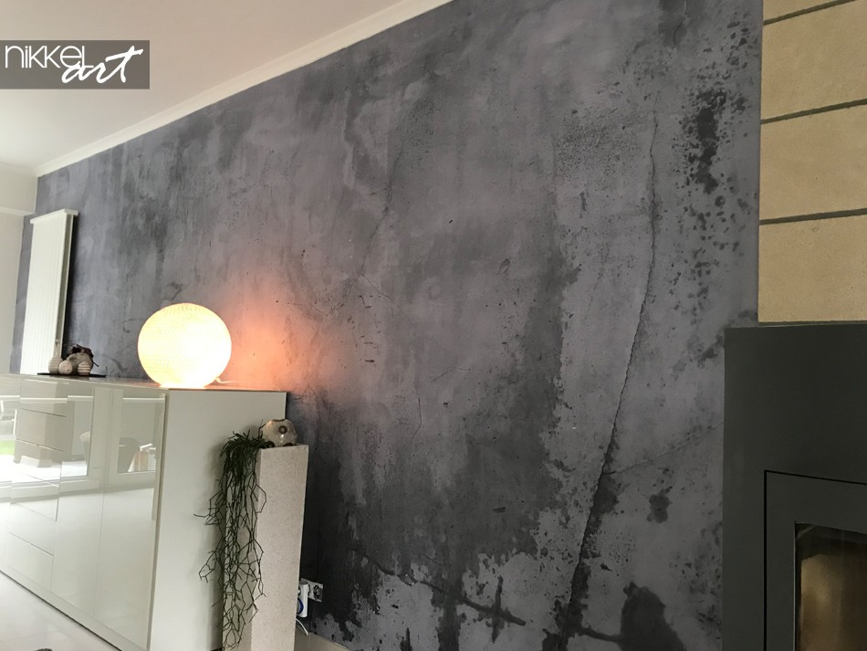 Customer Photo Concrete Wall Mural