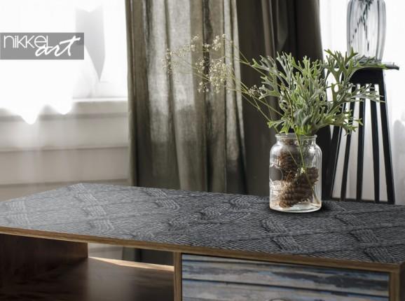 Furniture sticker knitting pattern