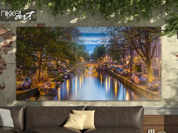 Garden poster Amsterdam