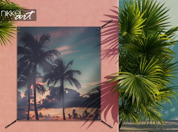 Garden poster Miami Beach