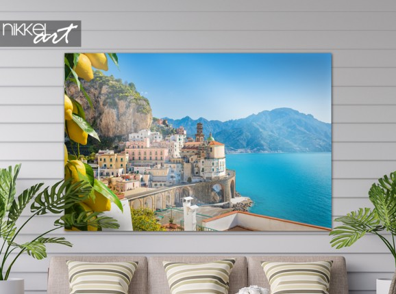 Garden poster Amalfi