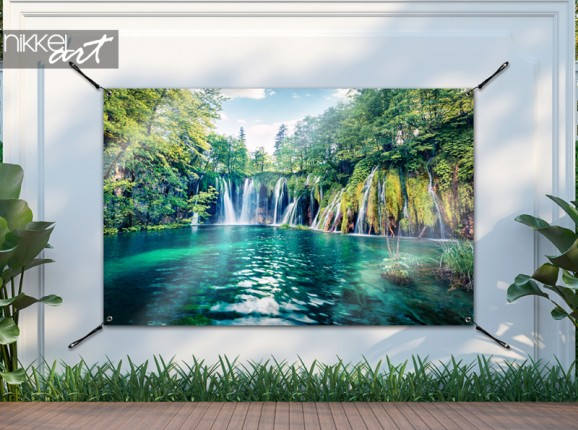 Garden poster Plitvice lakes