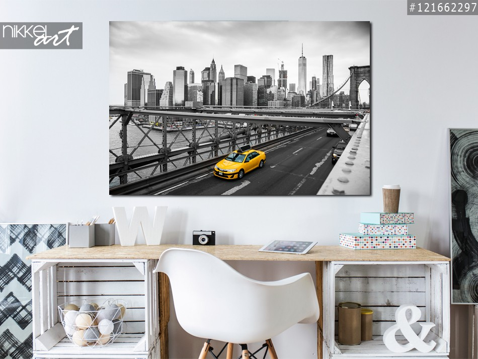Acrylic Prints Brooklyn bridge