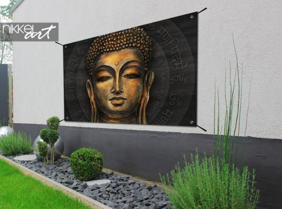 Garden poster Buddha