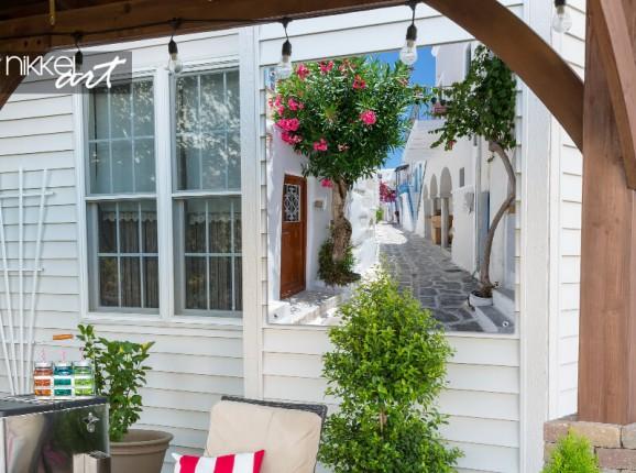 Garden poster Greece