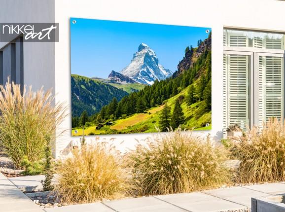 Garden poster Matterhorn mountain