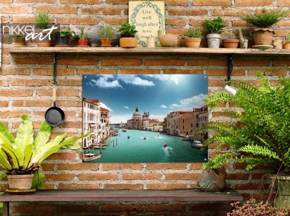 Garden poster Venice