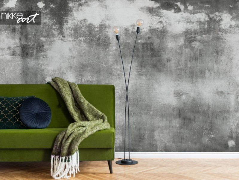Wall Murals with Concrete Look