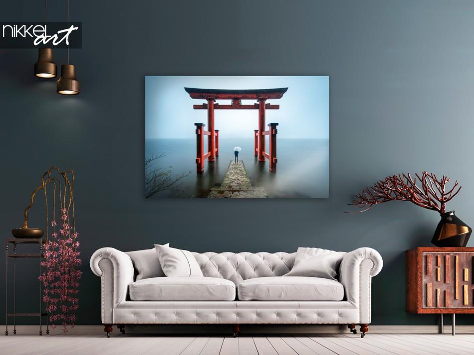 Photo Hakone Shrine Japan on Acrylic