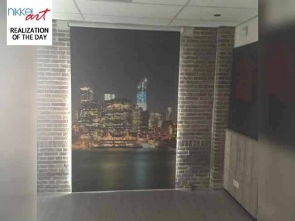 Photo roller blinds New York