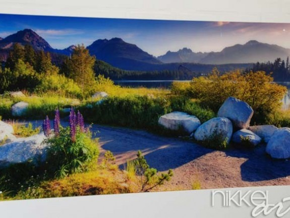 Photo on Acrylic Landscapes