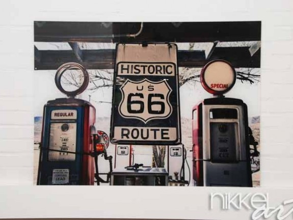 Photo on Acrylic Route 66