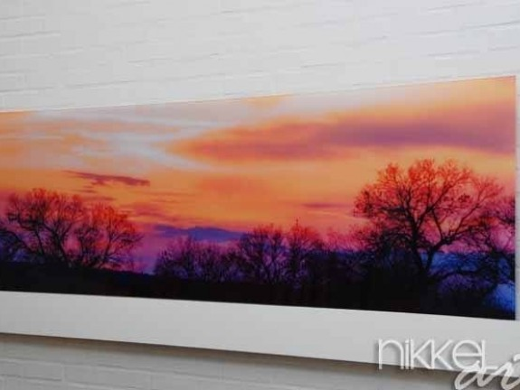 Photo on Acrylic Sunset