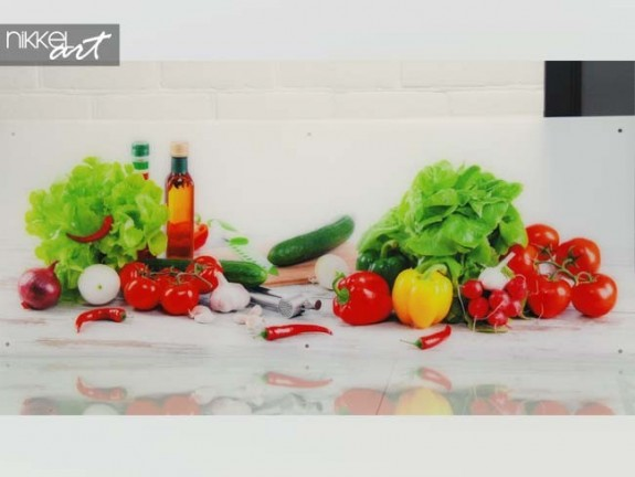 Photo on Acrylic Vegetables