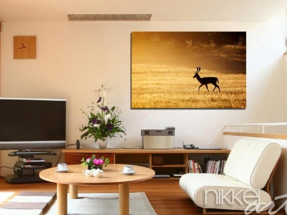 Photo on Acrylic deer