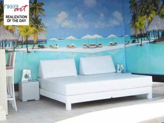 Wall Mural Tropical beach