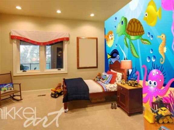 Wall Mural for kids | Submarine