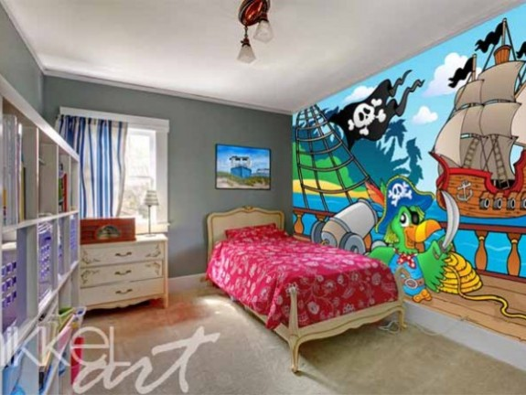 Wall Mural for kids | pirates