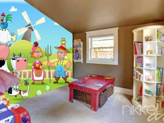Wall Mural for kids | ranch