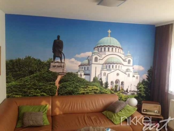 Wall Mural own pictures