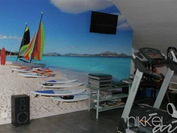 Wall Murals Beach