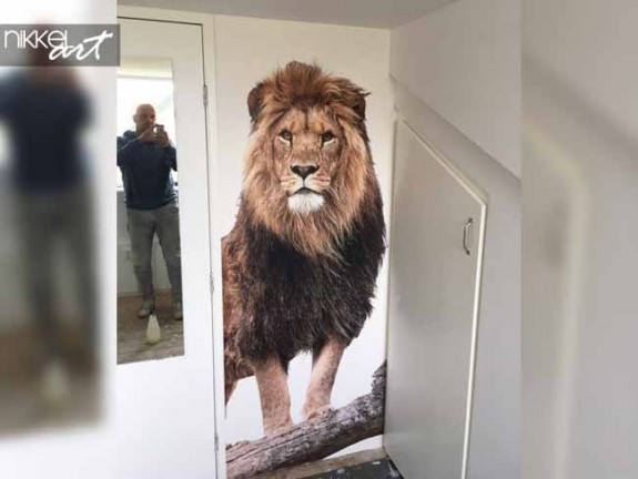 Wall Murals Lion