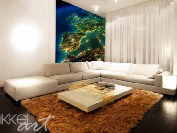 Wall Murals | Map of Europe