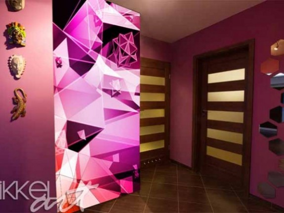 Wall Murals | Triangles