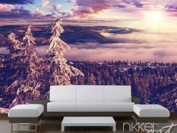 Wall Murals Winter