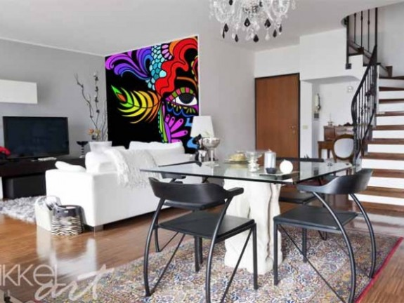 Wall Murals | carne vale a olio