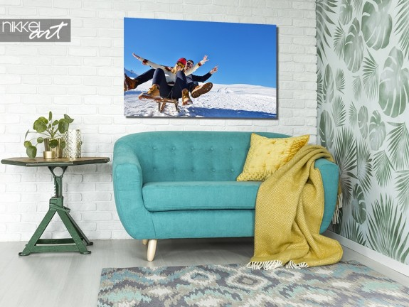 Aluminium Prints Winter sports