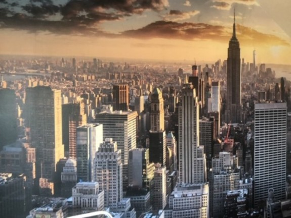Wall Mural Skyline New York City