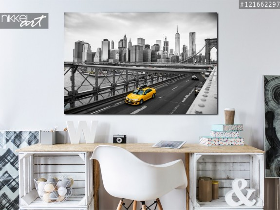Acrylic Prints Brooklyn bridge